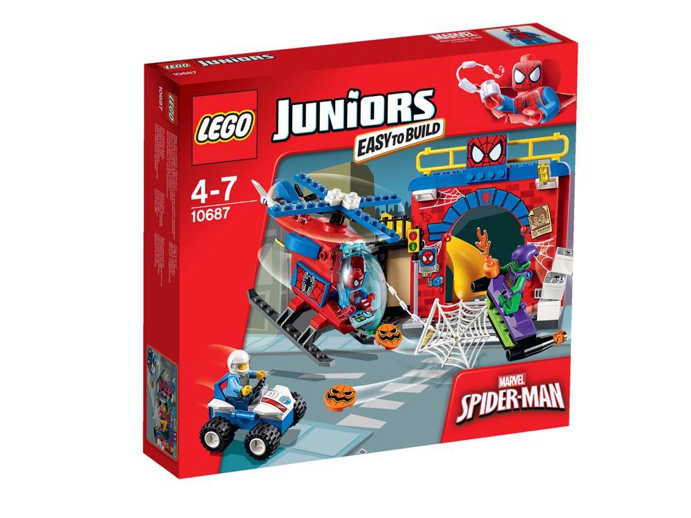 10687 LEGO Spider-Man? Hideout JUNIORS