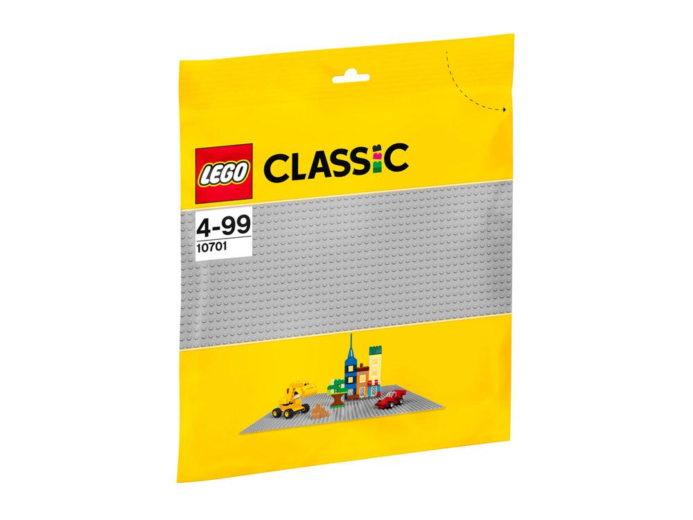 10701 LEGO Gray Baseplate CLASSIC