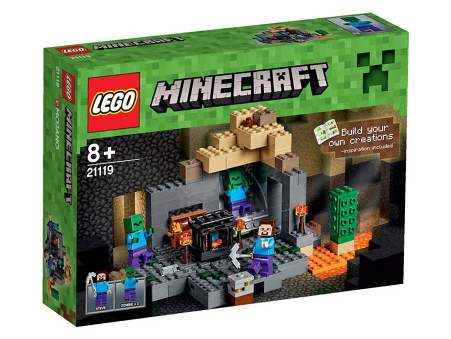 21119 LEGO The Dungeon MINECRAFT