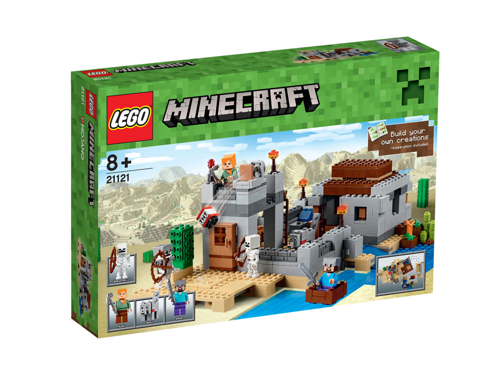 21121 LEGO The Desert Outpost MINECRAFT