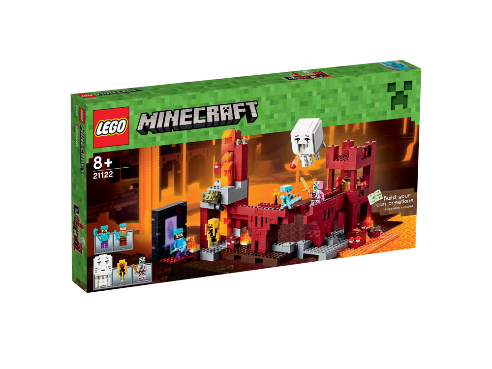 21122 LEGO The Nether Fortress MINECRAFT