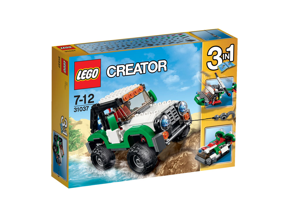 31037 LEGO Adventure Vehicles CREATOR