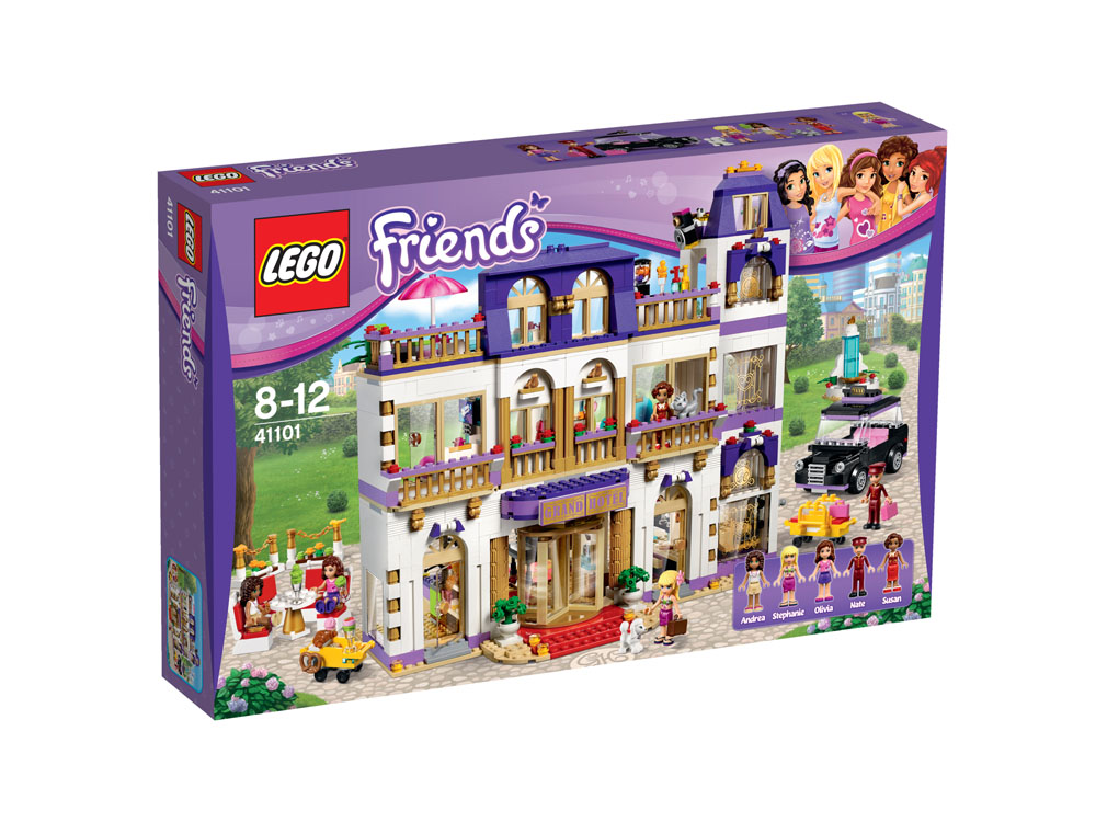 41101 LEGO Heartlake Grand Hotel FRIENDS