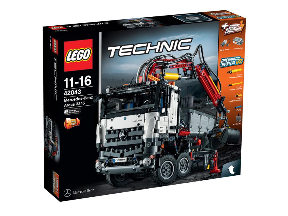 42043 LEGO Mercedes-Benz Arocs 3245 TECHNIC