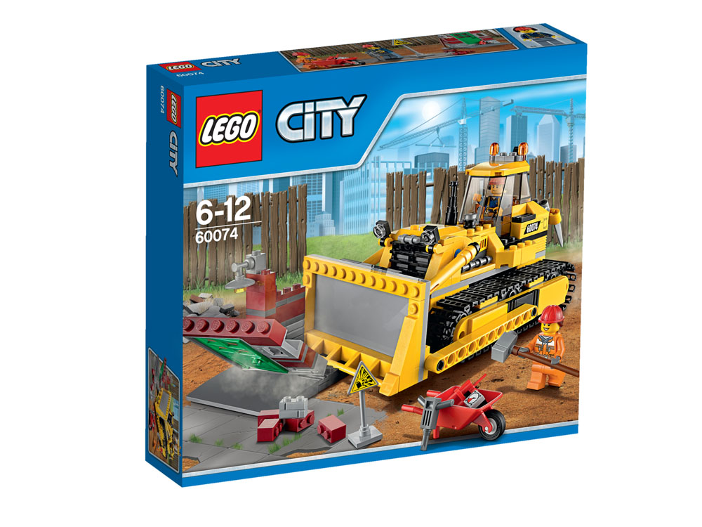 60074 LEGO Bulldozer CITY DEMOLITION