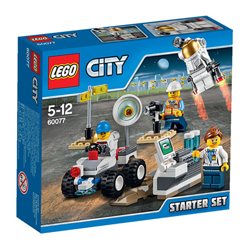 60077 LEGO Space Starter Set CITY SPACE PORT