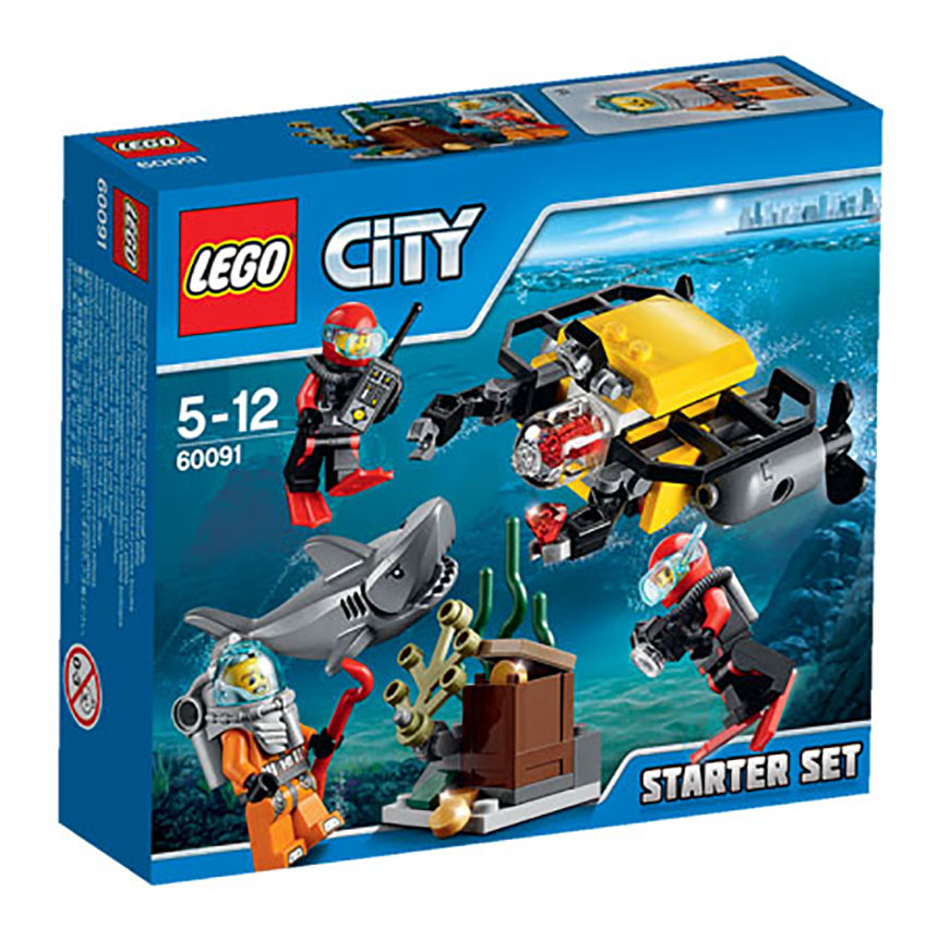 60091 LEGO Deep Sea Starter Set CITY DEEP SEA EXPLORERS