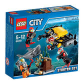 60091 LEGO Deep Sea Starter Set CITY DEEP SEA EXPLORERS
