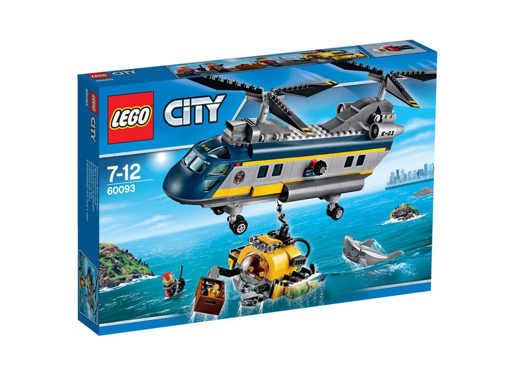 60093 LEGO Deep Sea Helicopter CITY DEEP SEA EXPLORERS
