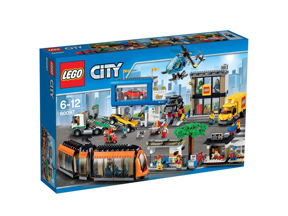 60097 LEGO City Square CITY TOWN