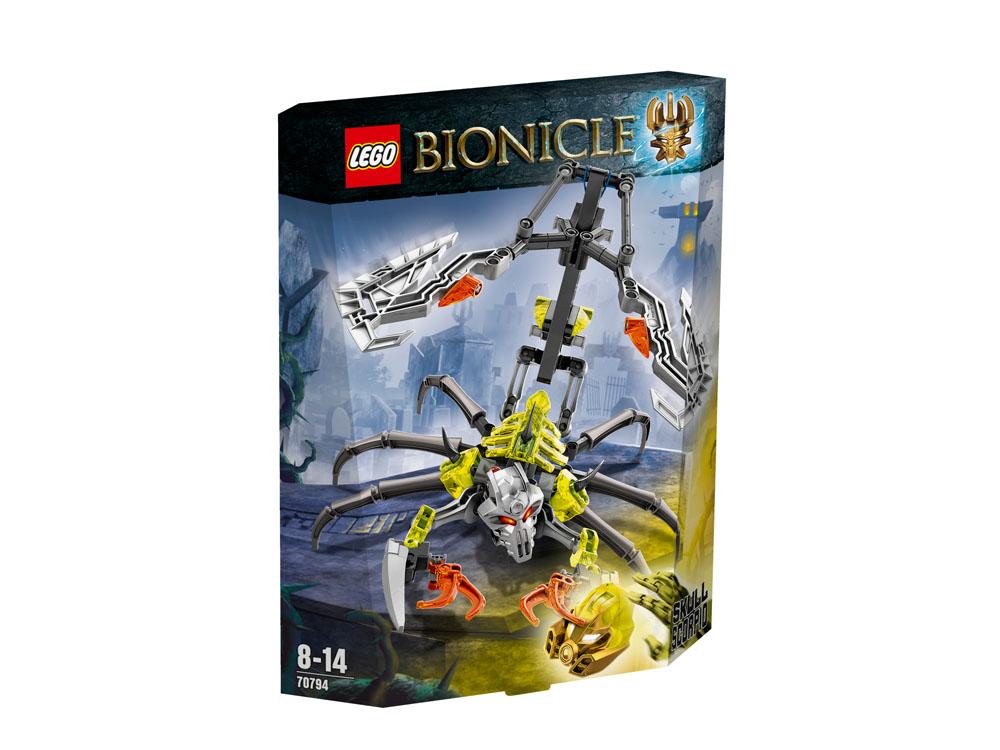 70794 LEGO Skull Scorpio BIONICLE
