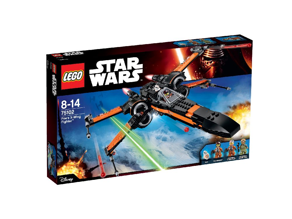 75102 LEGO Poe's X-Wing Fighter? STAR WARS