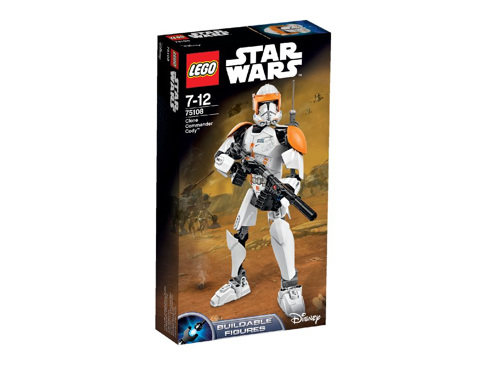 75108 LEGO Clone Commander Cody? STAR WARS