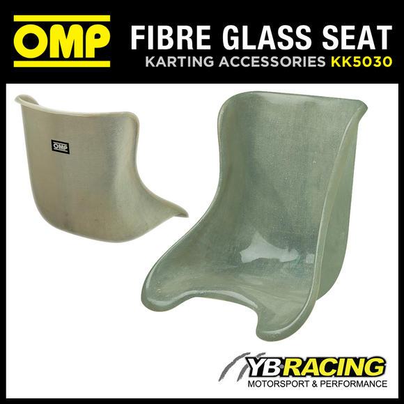 KK05030 OMP FIBREGLASS KART SEAT