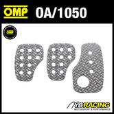 OA/1050 OMP RACING KNURLED ALUMINIUM PEDAL SET - FOR RACE RALLY CARS!