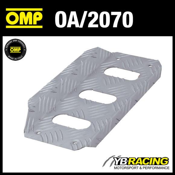 OA/2070 OMP DRIVERS LEFT FOOTREST KNURLED ALUMINIUM - FOR RACE RALLY CARS!