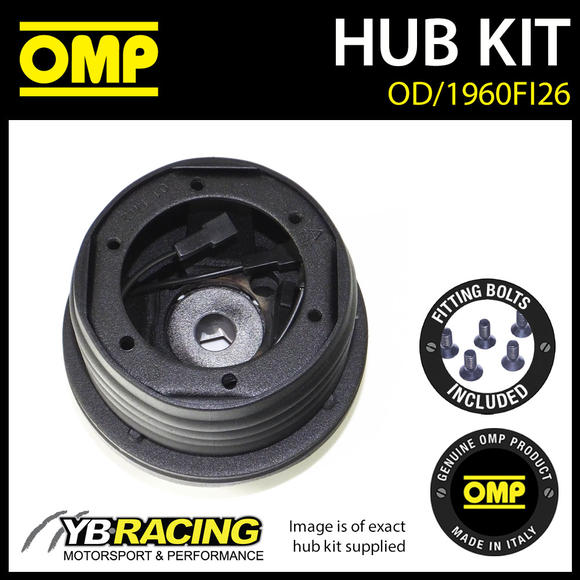 OD/1960FI26 OMP RACING STEERING WHEEL HUB BOSS KIT (ALSO FITS SPARCO & MOMO)