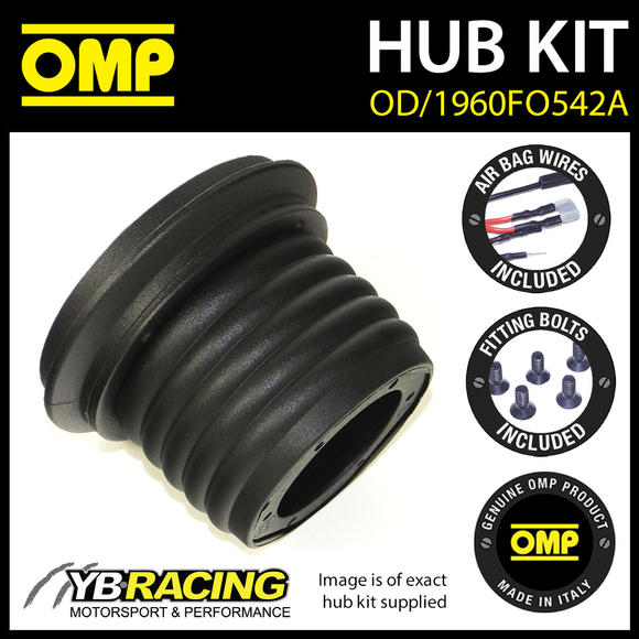 OD/1960FO542A OMP RACING STEERING WHEEL HUB BOSS KIT (ALSO FITS SPARCO & MOMO)