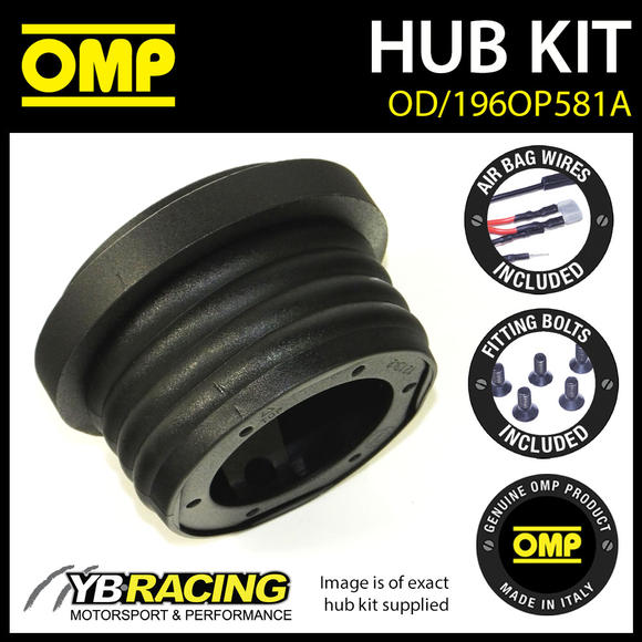 OD/1960OP581A OMP RACING STEERING WHEEL HUB BOSS KIT (ALSO FITS SPARCO & MOMO)