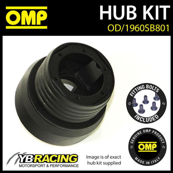 OD/1960SB801 OMP RACING STEERING WHEEL HUB BOSS KIT (ALSO FITS SPARCO & MOMO)