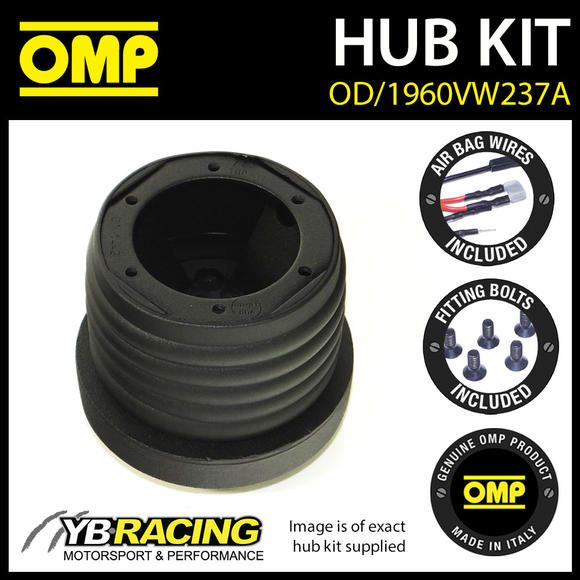 OD/1960VW237A OMP RACING STEERING WHEEL HUB BOSS KIT (ALSO FITS SPARCO & MOMO)