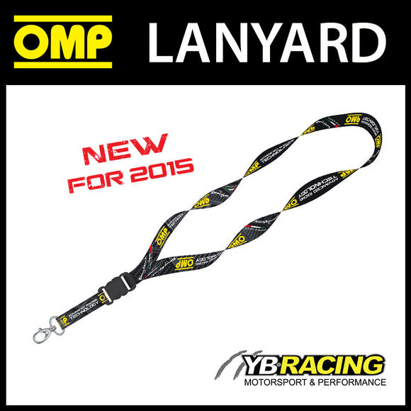 PR880 OMP RACING LANYARD NECK STRAP TICKET HOLDER - RACE MEETINGS & SHOWS