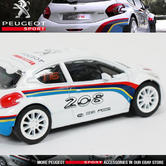 NEW! NOREV PEUGEOT SPORT 208 T16 RALLY CAR MINIATURE 3-INCH MODEL TOY CAR in BOX
