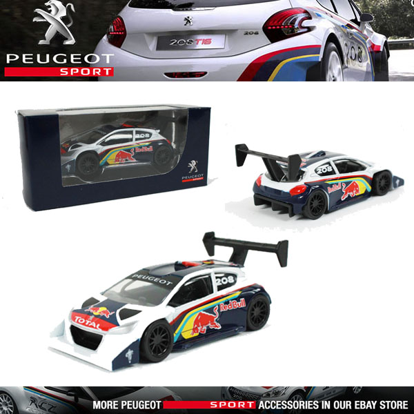 NOREV PEUGEOT SPORT 208 T16 PIKES PEAK 2013 MINIATURE 3 INCH MODEL TOY