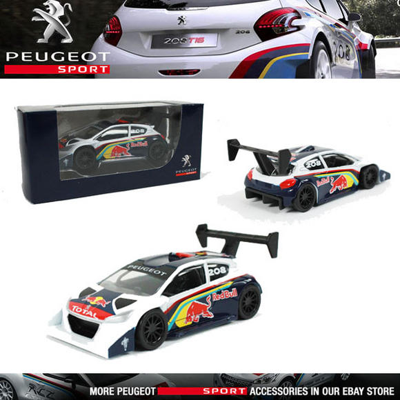 NEW! NOREV PEUGEOT SPORT 208 T16 PIKES PEAK 2013 MINIATURE 3-INCH MODEL TOY CAR Thumbnail 1