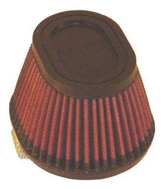 "RU-2780 K&N KN UNIVERSAL RUBBER FILTER [2-7/16""FLG, 4-1/2"" X 3-3/4""B, 3-1/2"" X 2 Preview"