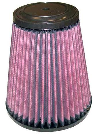 "RU-5121 K&N KN UNIVERSAL RUBBER FILTER [4""FLG, 5-3/8""B, 3-1/2""T, 6""H, TOP HAS 7/16"" VENT] Preview"