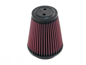 "RU-5141 K&N KN UNIVERSAL RUBBER FILTER [4""FLG, 5-3/8""B, 3-1/2""T, 6""H, TOP HAS TW Preview"