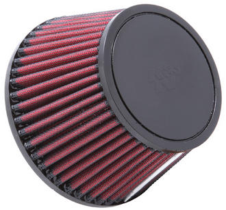 RU-5146 K&N KN UNIVERSAL RUBBER FILTER [72MM FLG ID, 132MM BOD X 95.5MM TOD, 95MM H] Preview
