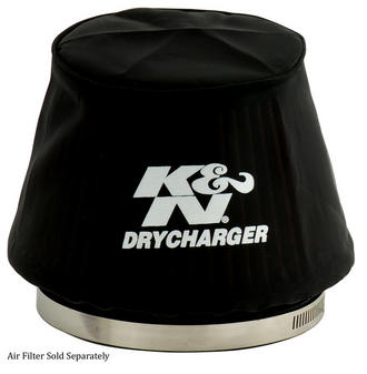 RU-5163DK K&N KN AIR FILTER WRAP [DRYCHARGER; RU-5163, BLACK] BRAND NEW K&N! Preview