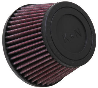 "RU-9160 K&N KN UNIVERSAL RUBBER FILTER [2-11/16""FLG, 5-3/16""B, 4""T, 3-7/16""H] Preview"