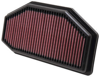 TB-1011 K&N KN REPLACEMENT AIR FILTER [TRIUMPH SPEED TRIPLE; 2011] NEW K&N! Preview