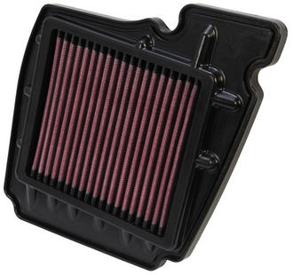 YA-1611 K&N KN REPLACEMENT AIR FILTER [YAMAHA FZ16 153CC; 2008-2011] NEW K&N! Preview