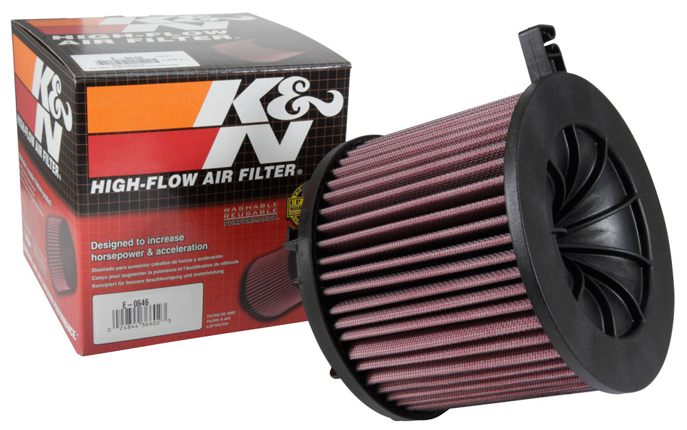 K/&N Air Filter For Audi Allroad Quattro 4.2 V8 Petrol 2000-2005 33-2125