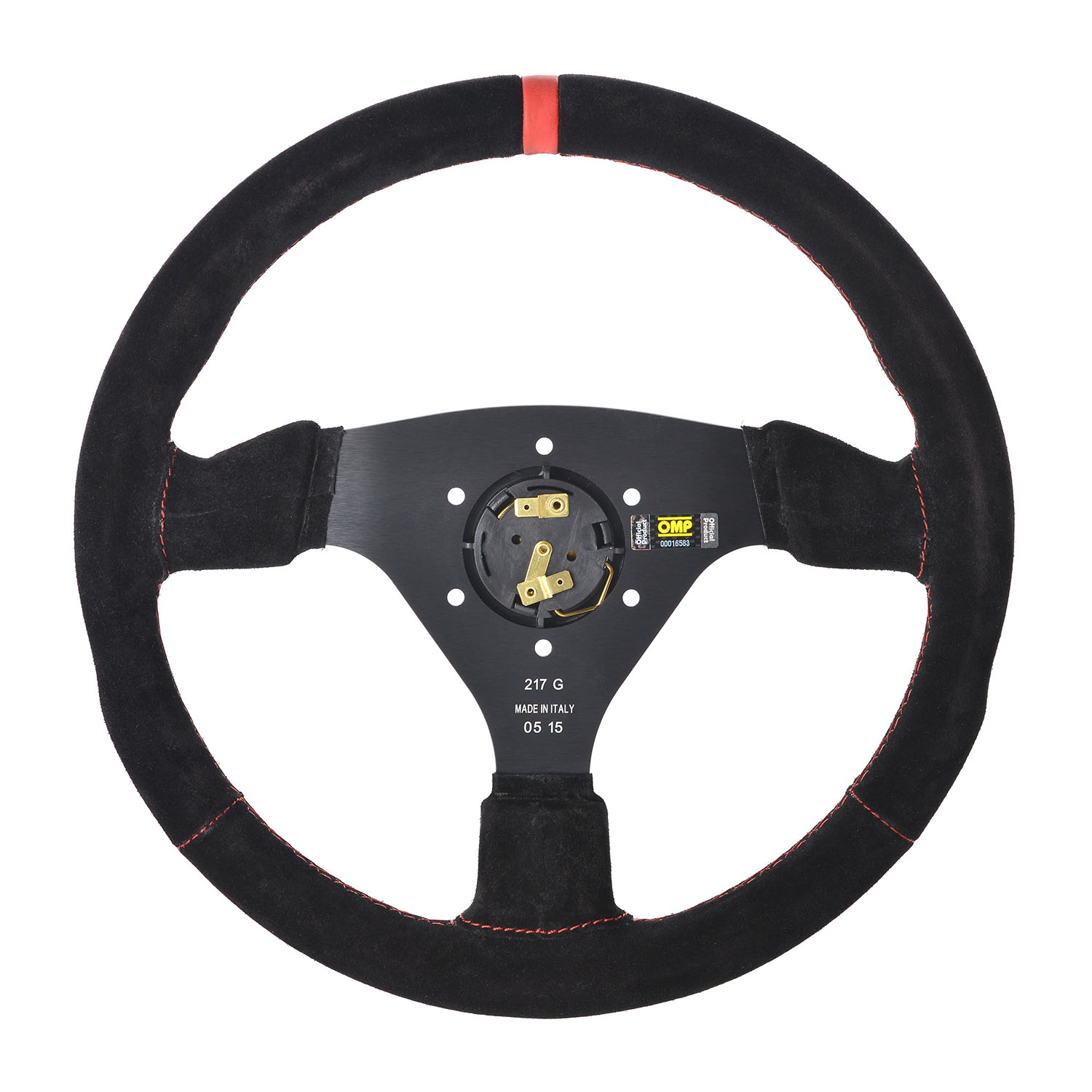 Tuning Rally OMP RALLY Steering Wheel SUEDE LEATHER BLUE ANODIZED Race