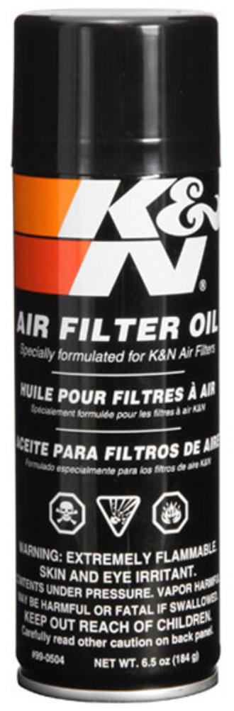 99-0504 K&N KN AIR FILTER OIL 6.5fl oz (204ml) AEROSOL SPRAY CAN K&N SERVICE Preview