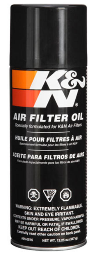 99-0516 K&N KN AIR FILTER OIL 12.5fl oz (408ml) AEROSOL SPRAY CAN K&N SERVICE Preview