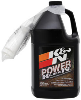 99-0635 K&N KN POWER KLEEN AIR FILTER CLEANER & DEGREASER 1 GALLON BOTTLE TRADE Preview
