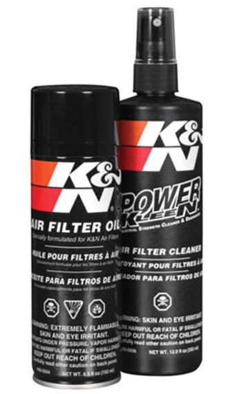 NEW! 99-5000 K&N KN RECHARGER AIR FILTER CLEANING SERVICE KIT 204ml AEROSOL OIL Preview