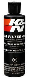 99-0533 K&N KN AIR FILTER OIL 8.0fl oz (237ml) SQUEEZE TUBE K&N SERVICE