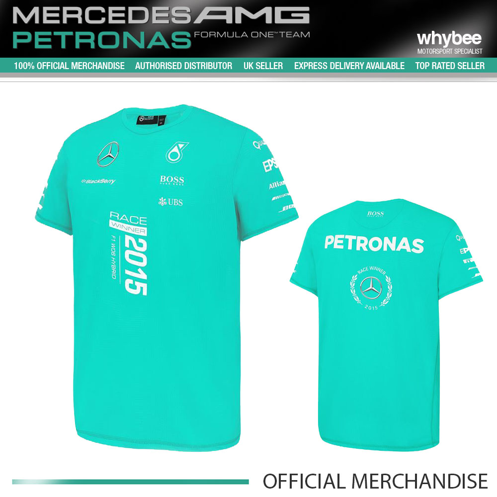 mercedes amg petronas t shirt 2015