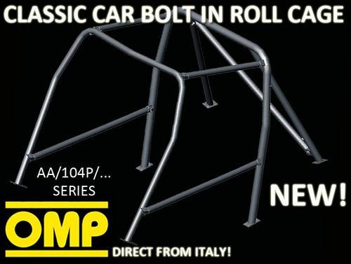 AA/104P/34 OMP CLASSIC CAR ROLL CAGE FIAT 128 SALOON 4 DOORS 69-84