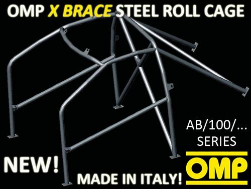 AB/100/234 OMP BOLT IN ROLL CAGE fits NISSAN MICRA 3 DOORS
