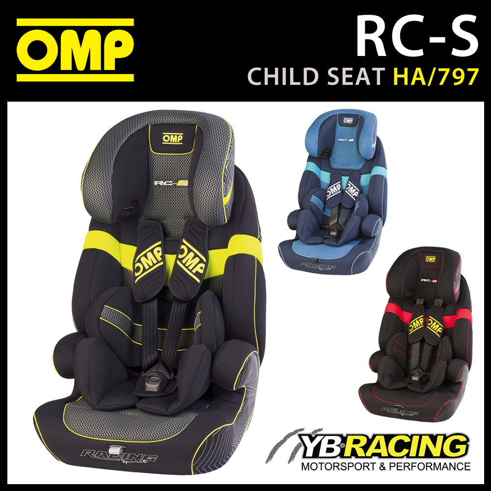 HA 797 OMP RACING RC S CHILD BABY CAR SEAT WITH ISOFIX