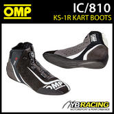 IC/810 OMP KS-1R KS1R KART KARTING RACE BOOTS  - TOP OF THE RANGE SHOES!