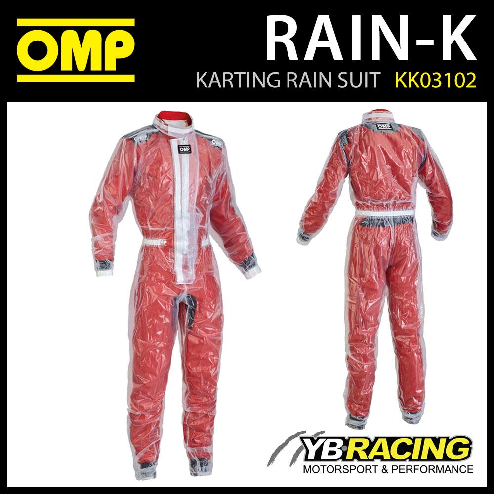 SALE! OMP RAIN-K KARTING RAIN WET SUIT for KIDS CHILDRENS CADET JUNIOR BAMBINO